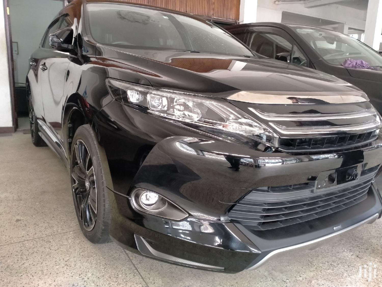 Toyota Harrier 2015 Black | Cars for sale in Tudor, Mombasa, Kenya
