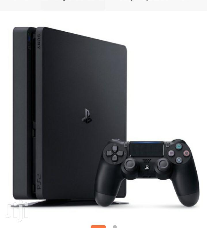 Archive: Sony Playstation 4 Slim –500GB – Black Free Game