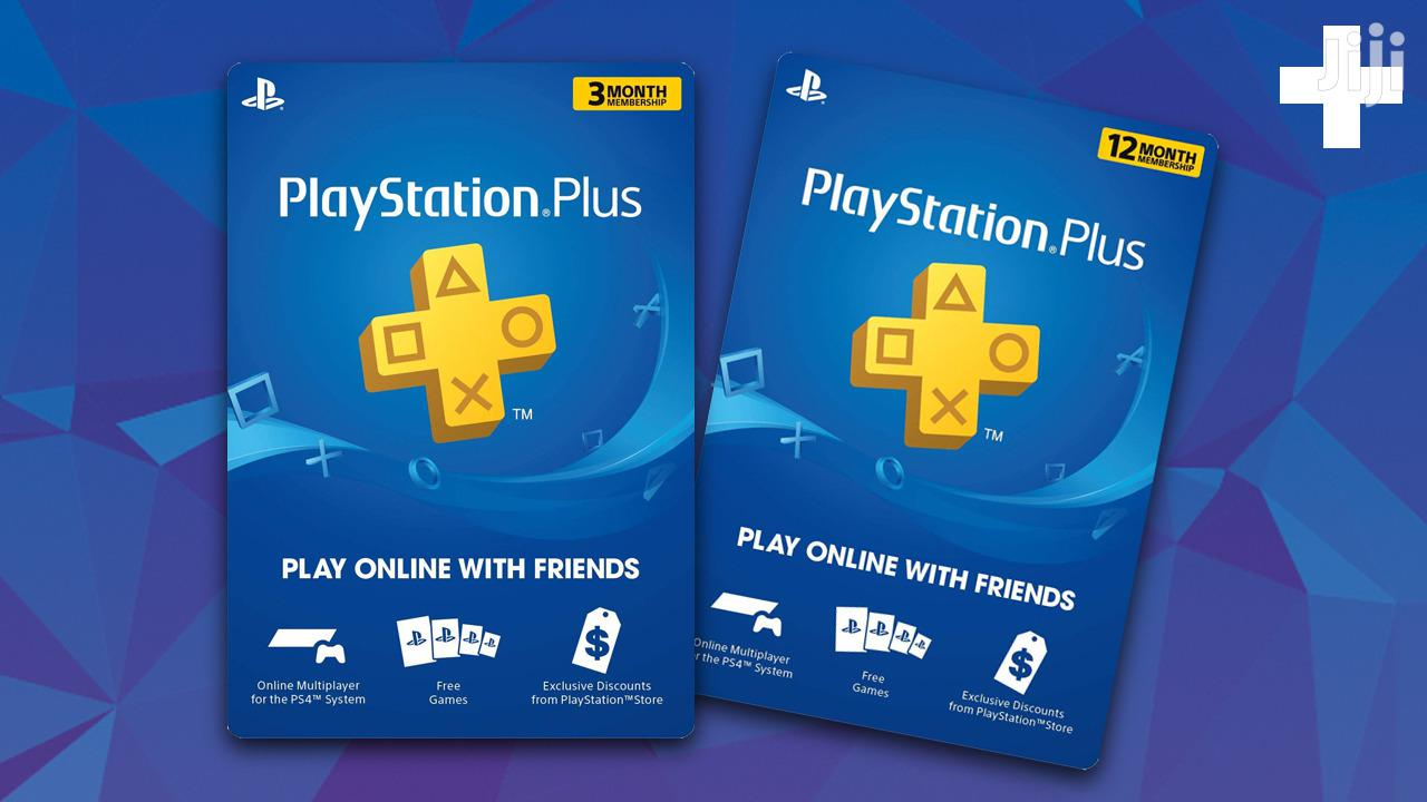 Ps Plus Psn Wallet Top Up Gift Card Xbox Live Gold Ps4 In Nairobi South Accessories Supplies For Electronics Underdogs Lounge Jiji Co Ke For Sale In Nairobi South Buy