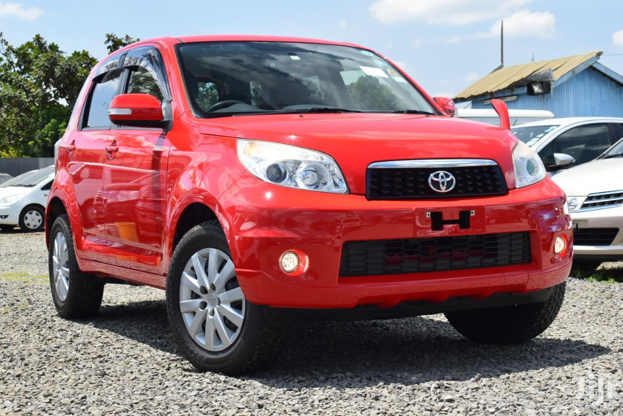 Toyota Rush 2012 Red