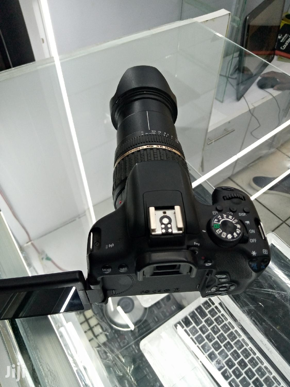 Digital Camera Canon 750D,Zoom Lense 18-200mm   Photo & Video Cameras for sale in Nairobi Central, Nairobi, Kenya