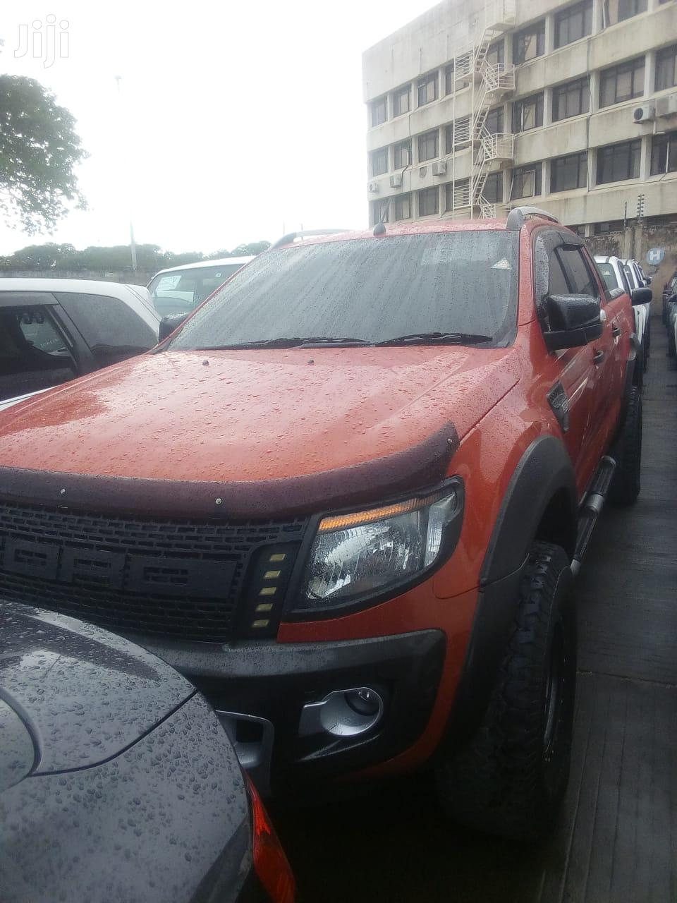 Ford Ranger 2014 Orange