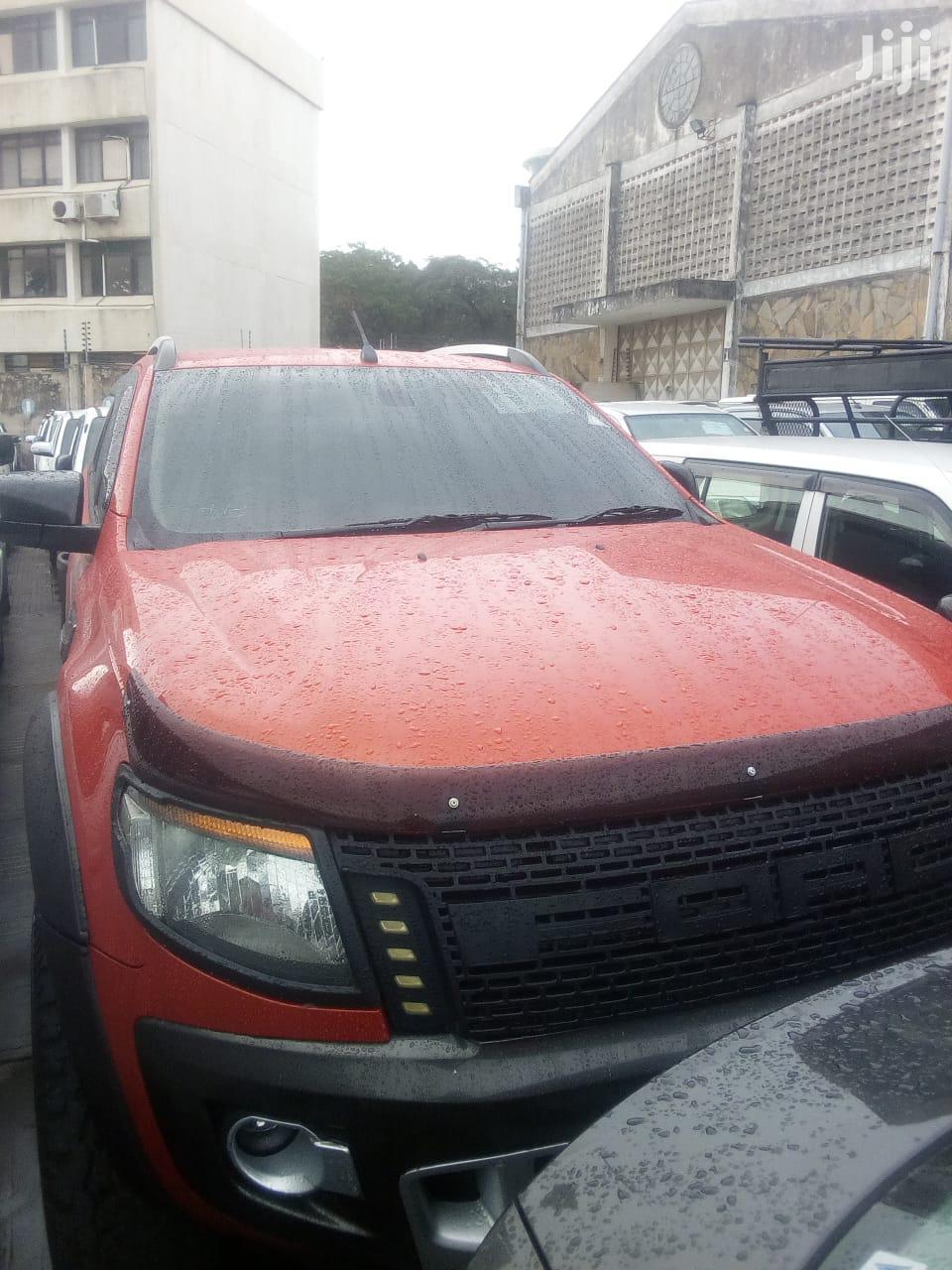 Ford Ranger 2014 Orange | Cars for sale in Karen, Nairobi, Kenya