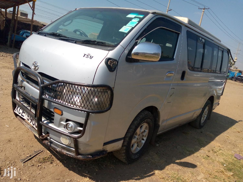Toyota Regius Van 2008 Silver