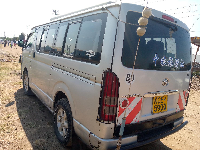 Toyota Regius Van 2008 Silver | Buses & Microbuses for sale in Embakasi, Nairobi, Kenya