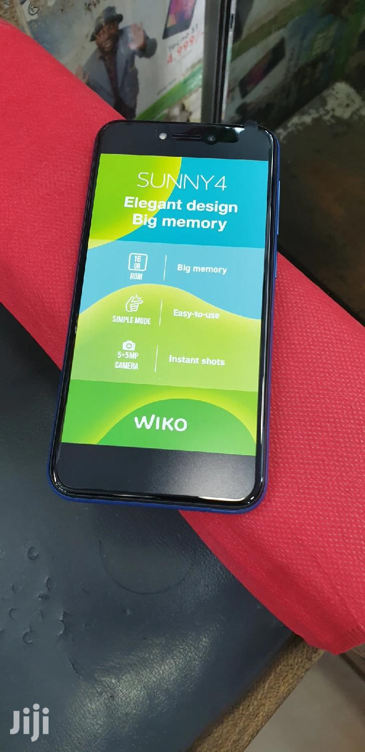 New Wiko Sunny 4 16 GB Blue | Mobile Phones for sale in Nairobi Central, Nairobi, Kenya