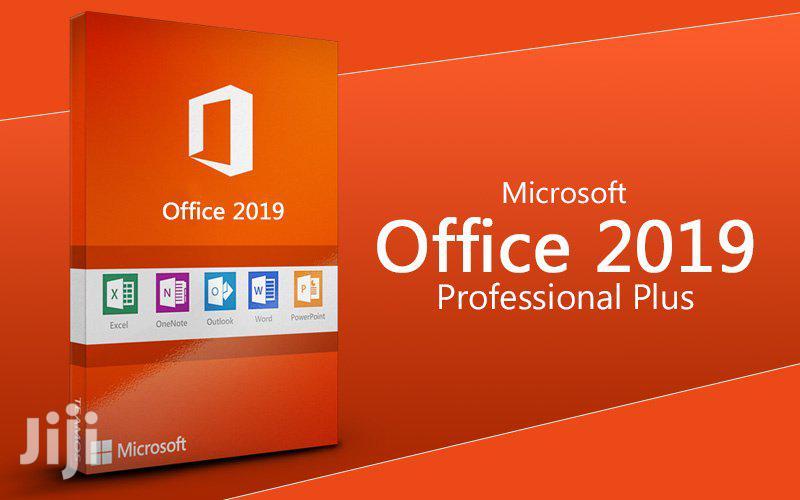 Microsoft Office 2019, Microsoft Projects, Microsoft Visio