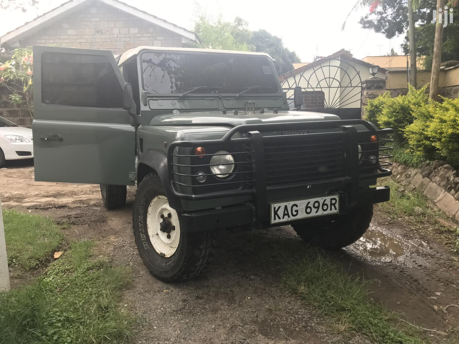 Land Rover Defender 1996 Green
