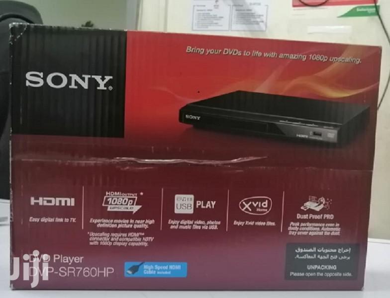 Original Sony HDMI DVD Player Model- DVP-SR760HP