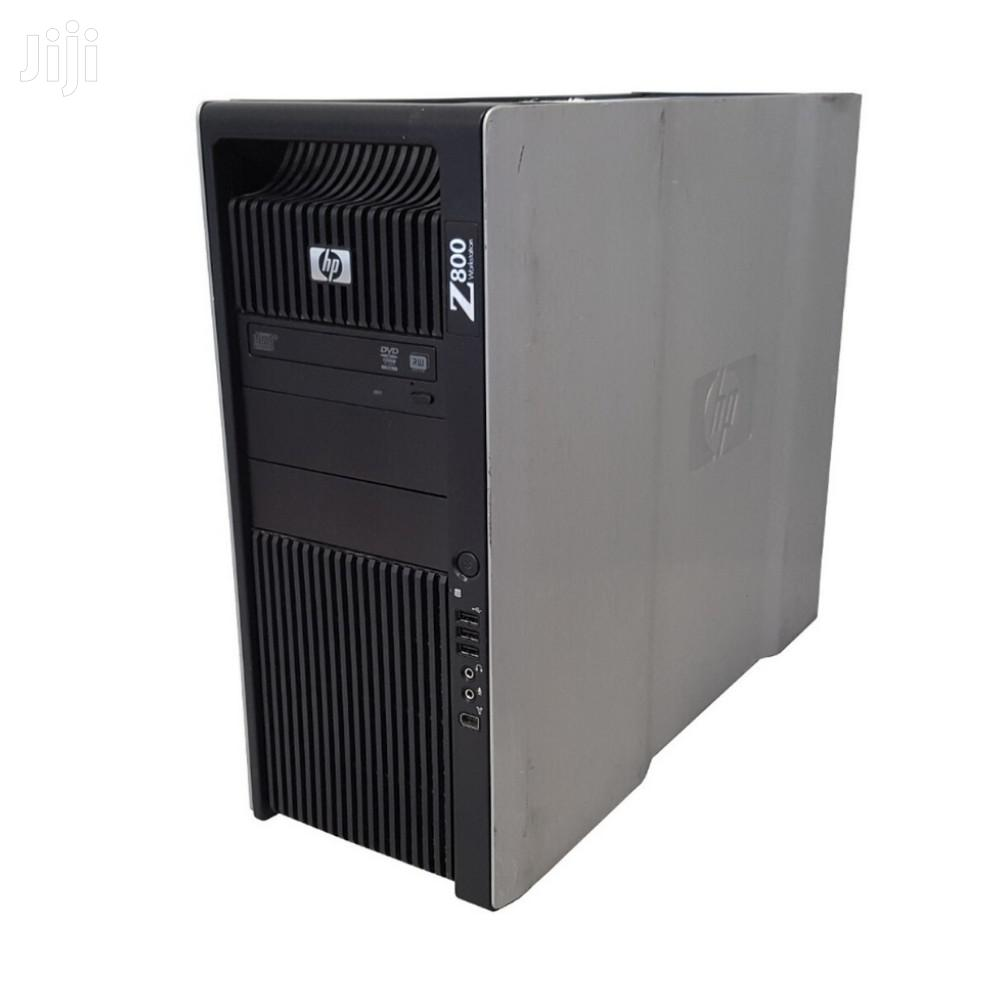 Desktop Computer HP Z800 24GB Intel Xeon HDD 640GB | Laptops & Computers for sale in Nairobi Central, Nairobi, Kenya