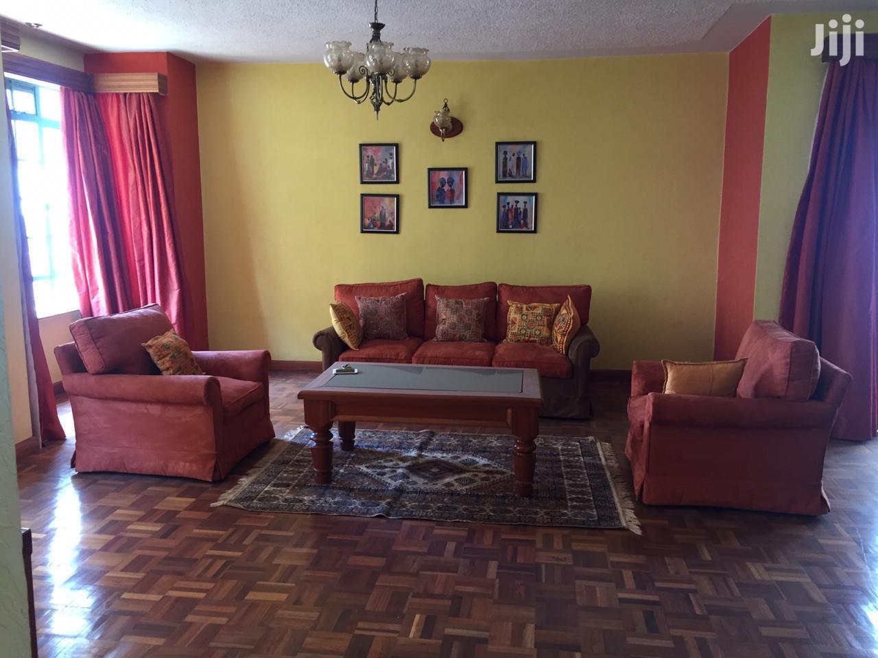 3 Bedroom Fully Furnished In Lavington