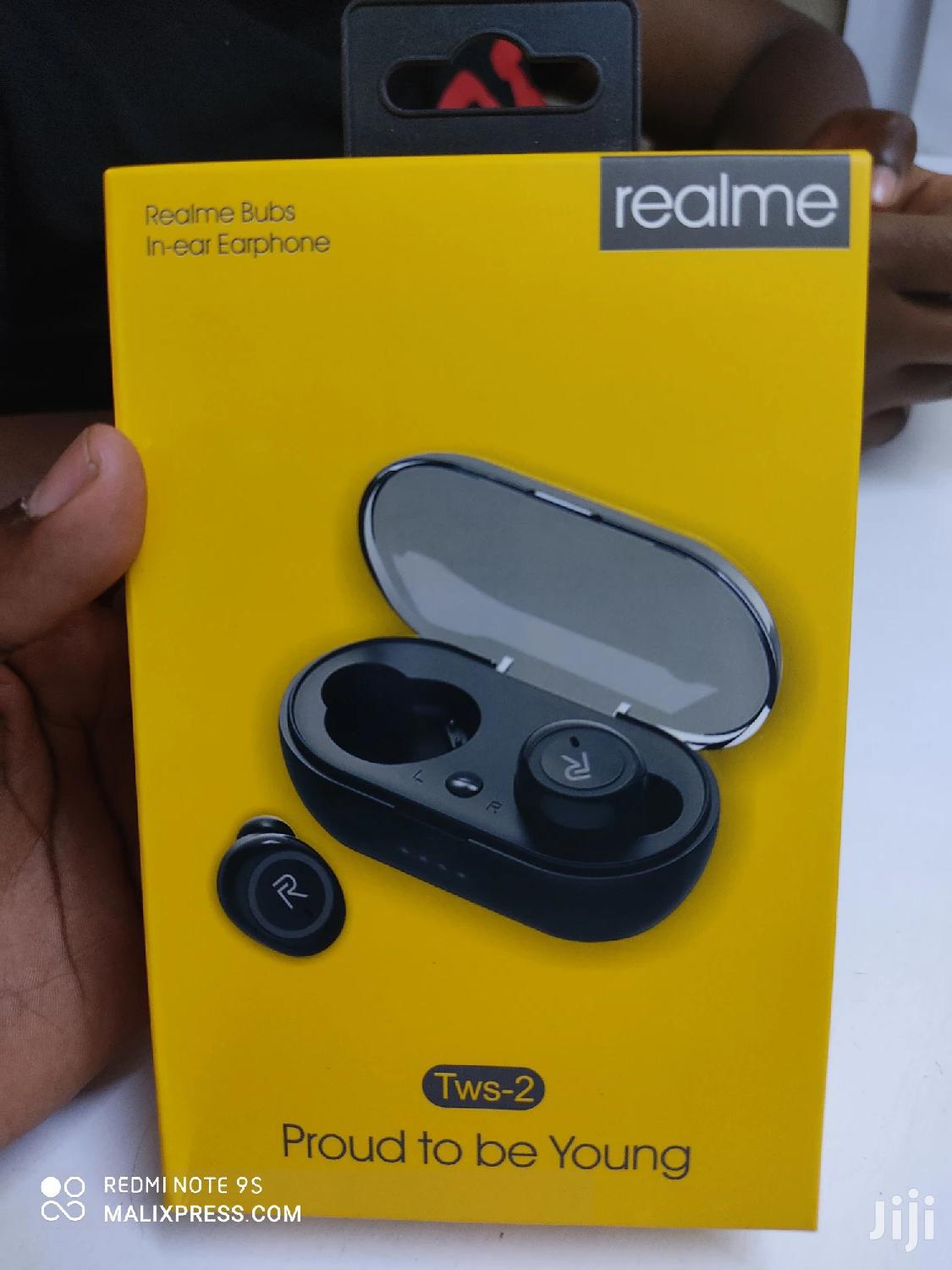 Realme Bluetooth Wireless TWS Earbuds | Accessories for Mobile Phones & Tablets for sale in Nairobi Central, Nairobi, Kenya
