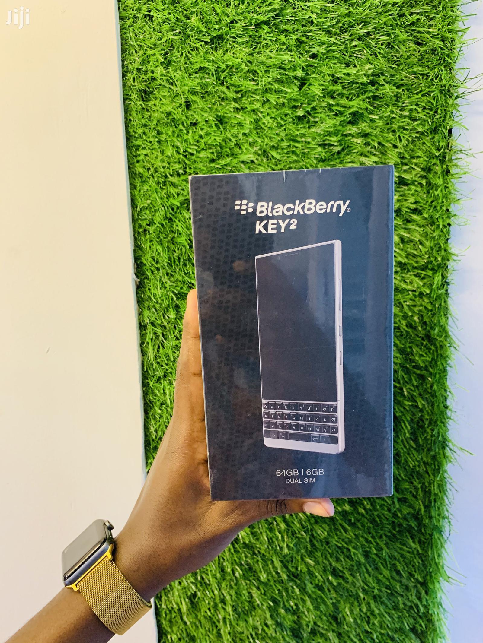 New BlackBerry KEY2 128 GB Silver
