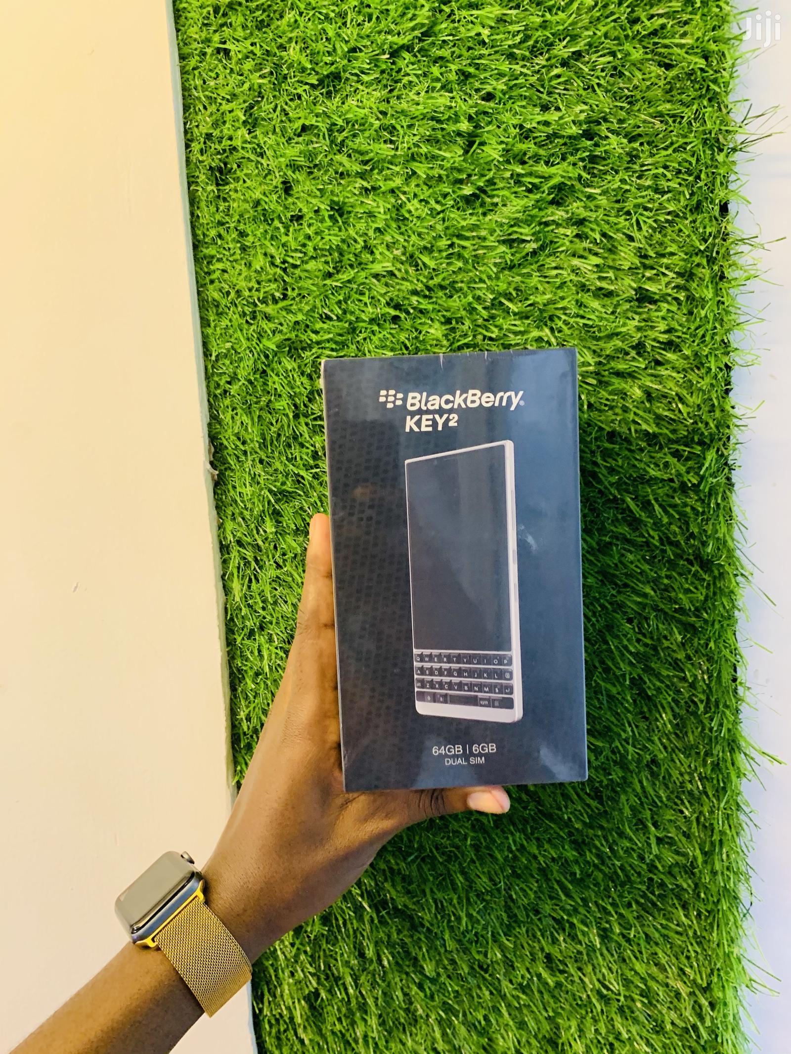 New BlackBerry KEY2 128 GB Silver | Mobile Phones for sale in Nairobi Central, Nairobi, Kenya