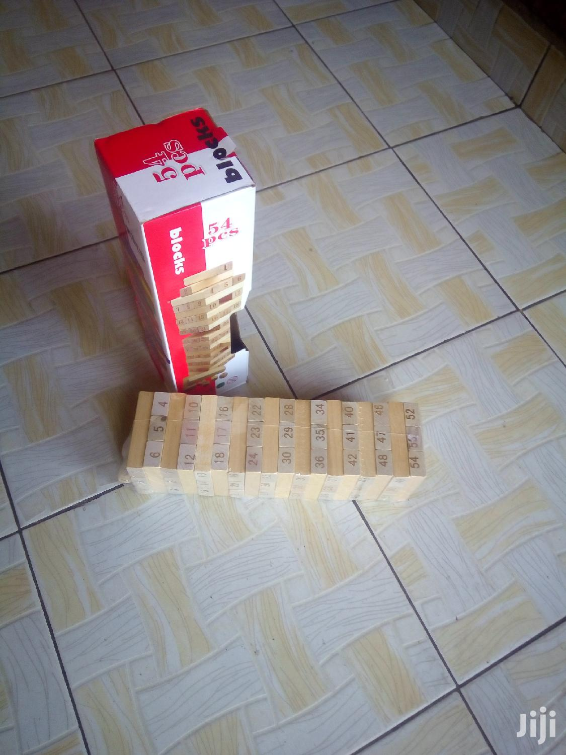 Jenga Block Tower Game -54 Blocks | Books & Games for sale in Nairobi Central, Nairobi, Kenya