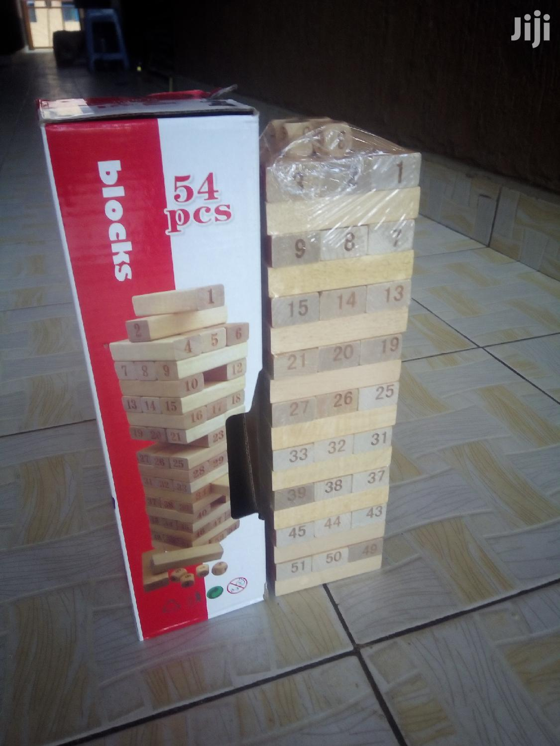 Jenga Block Tower Game -54 Blocks