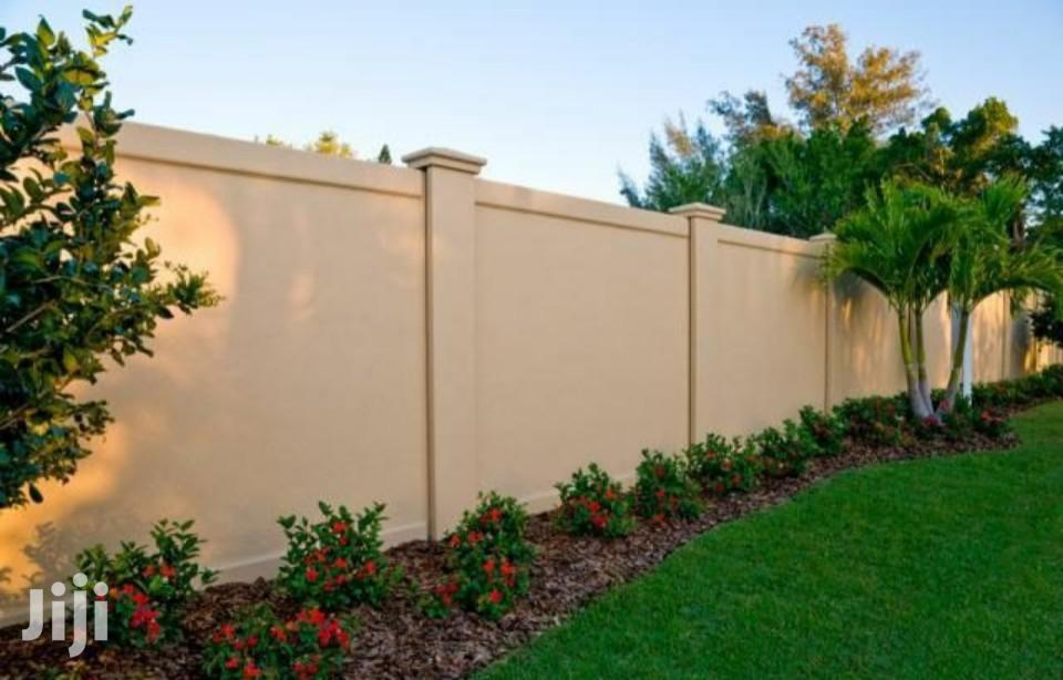 Elegant Concrete Perimeter Wall Construction | Building & Trades Services for sale in Karen, Nairobi, Kenya