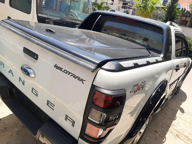 Ford Ranger 2014 White   Cars for sale in Tudor, Mombasa, Kenya