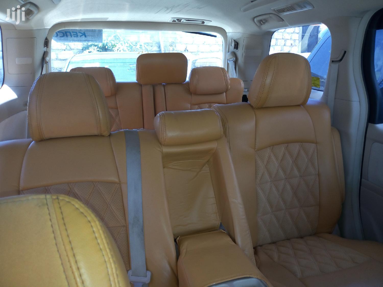 Toyota Alphard 2013 Blue