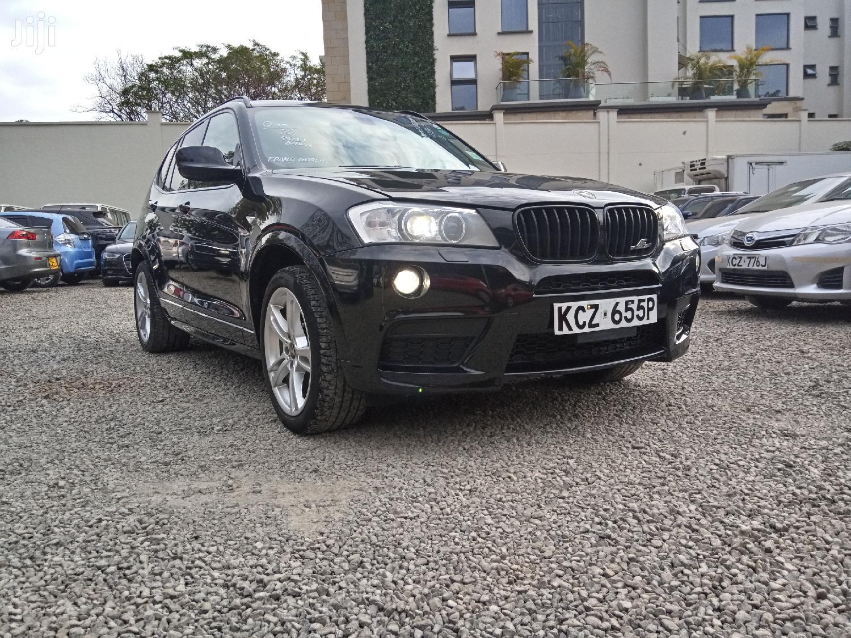 BMW X3 2013 Black