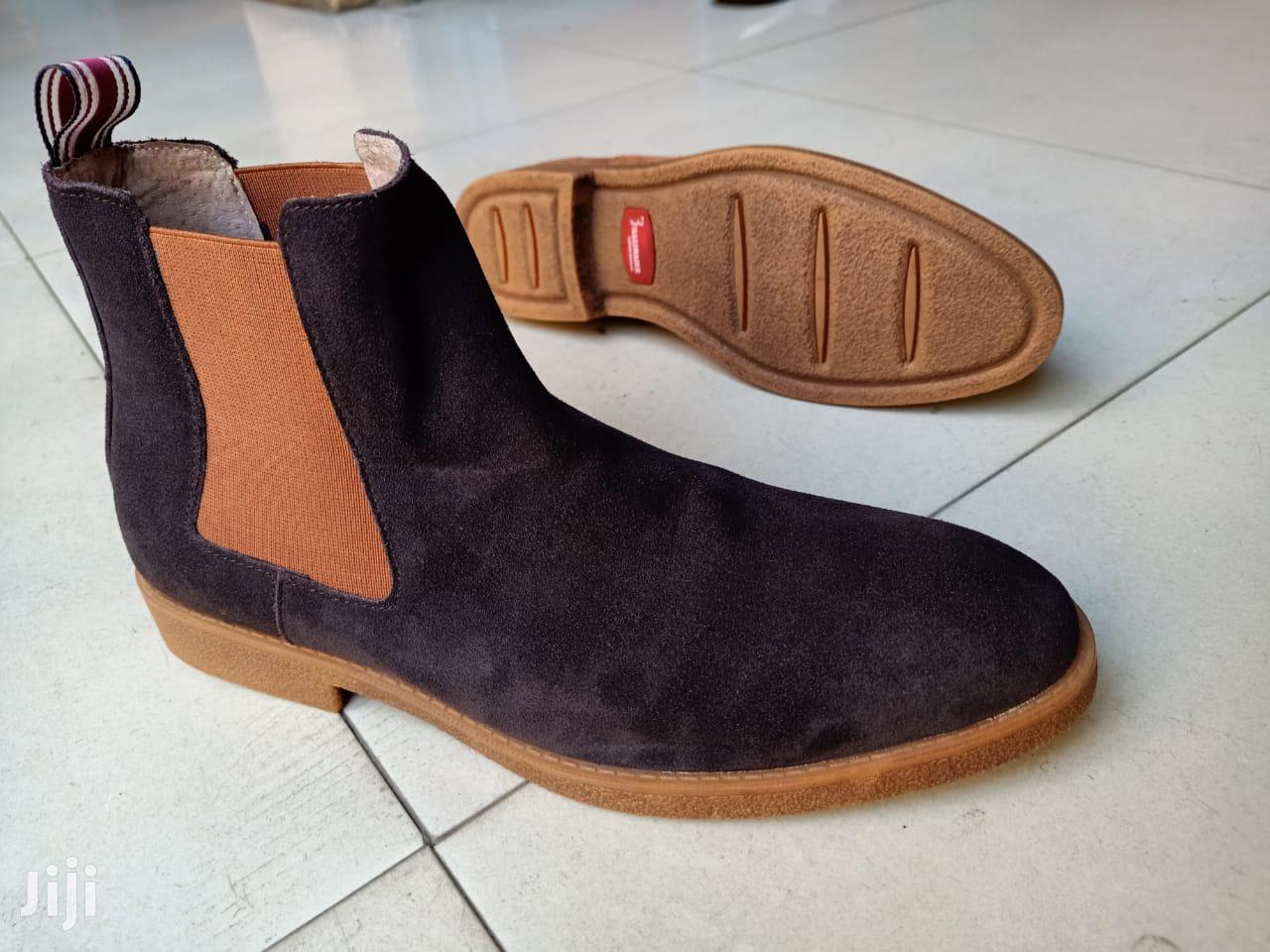 Nautical Pure Leather Boots