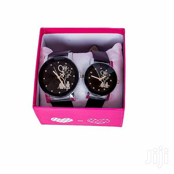 Couple Watch With Free Gift Box