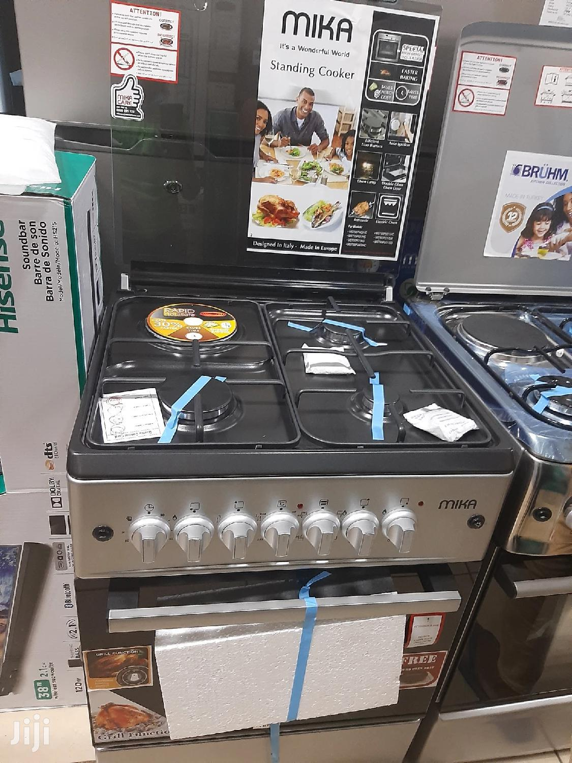 Mika Cooker, 3gas 1 Electric, With Electric Oven