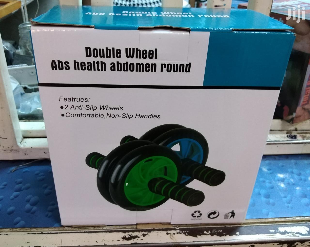 Double Wheel Abs Roller