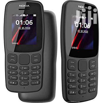 Nokia 106 Black 512 MB | Mobile Phones for sale in Nairobi Central, Nairobi, Kenya