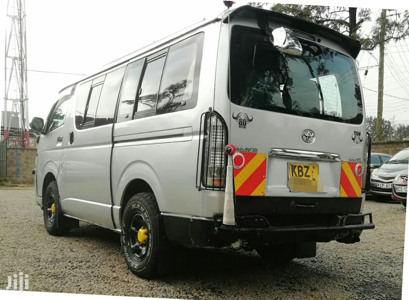 Toyota Hiace Tour Van 2007 , 2500cc Diesel With Turbo | Buses & Microbuses for sale in Nairobi Central, Nairobi, Kenya