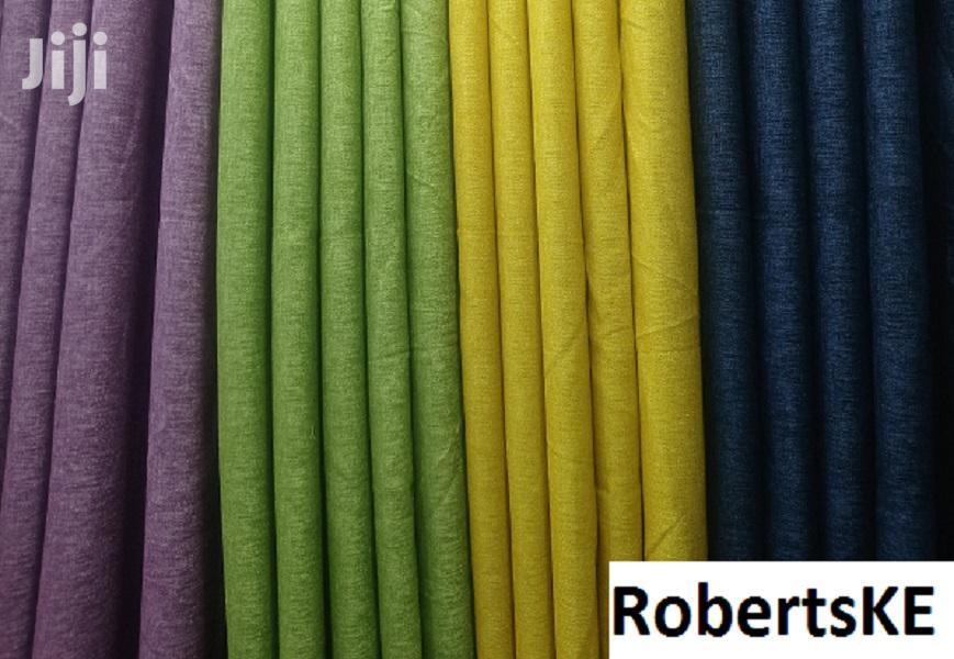 Plain Linen Curtain
