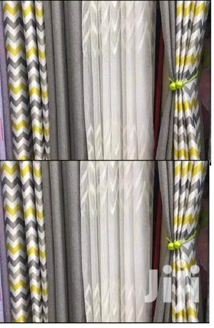 Yellow Grey Curtain   Home Accessories for sale in Nairobi, Nairobi Central