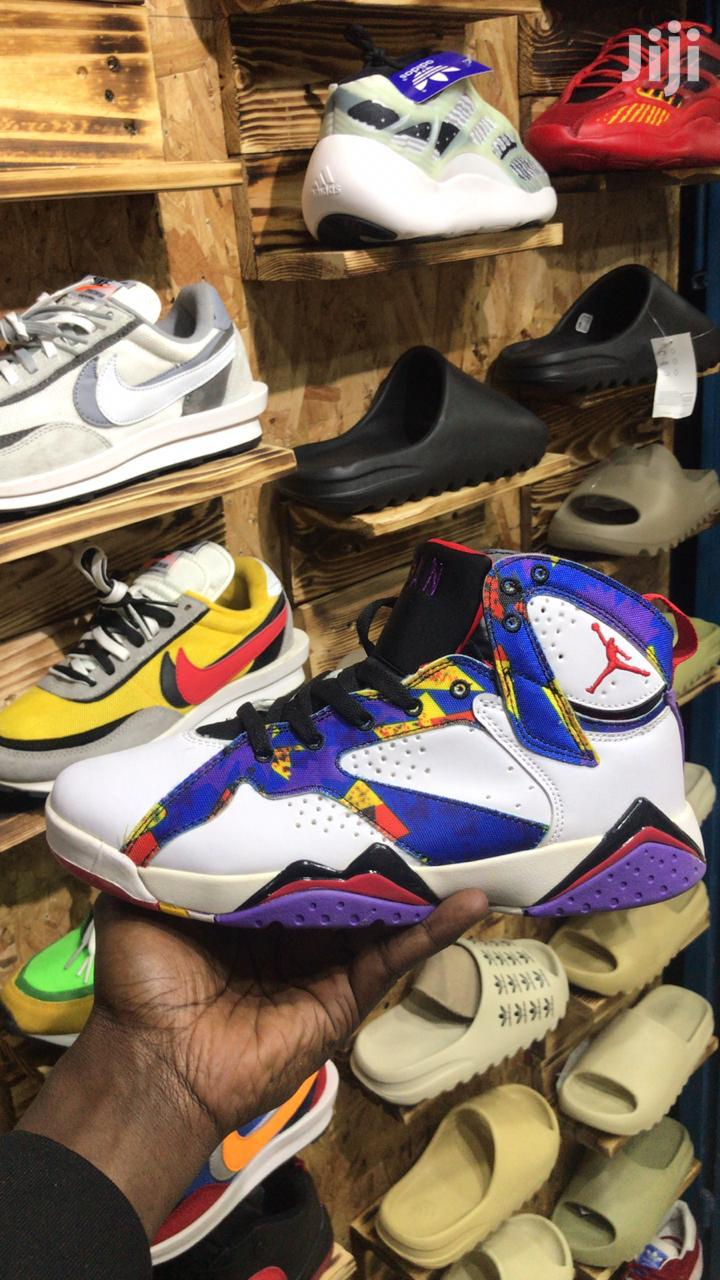 Leather High Top Sneakers | Shoes for sale in Nairobi Central, Nairobi, Kenya