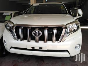 Toyota Land Cruiser Prado 2014 White   Cars for sale in Mombasa, Mvita