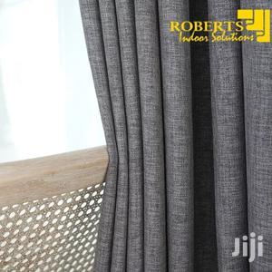 Grey Plain Linen Curtain   Home Accessories for sale in Nairobi, Nairobi Central