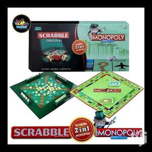 2 in 1 Monopoly and Scrabble | Books & Games for sale in Nairobi, Nairobi Central