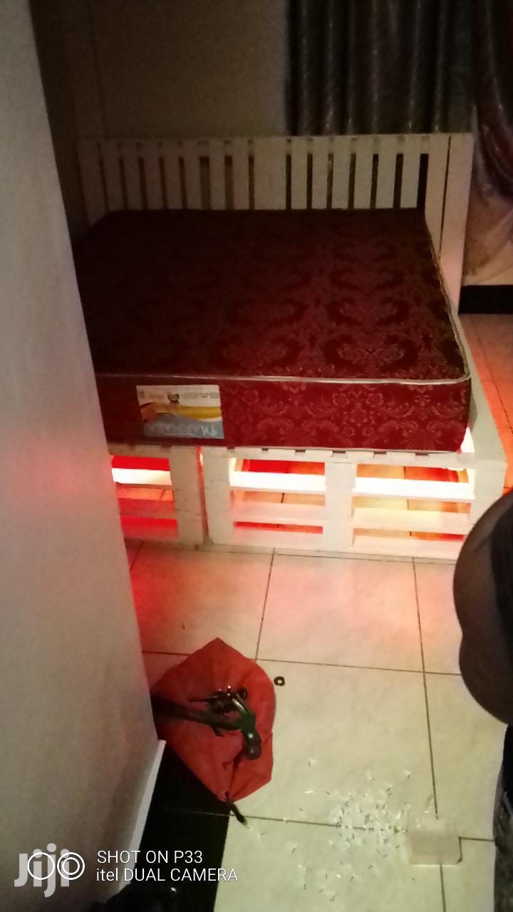 Pallet Beds With Lights   Furniture for sale in Ruiru, Kiambu, Kenya