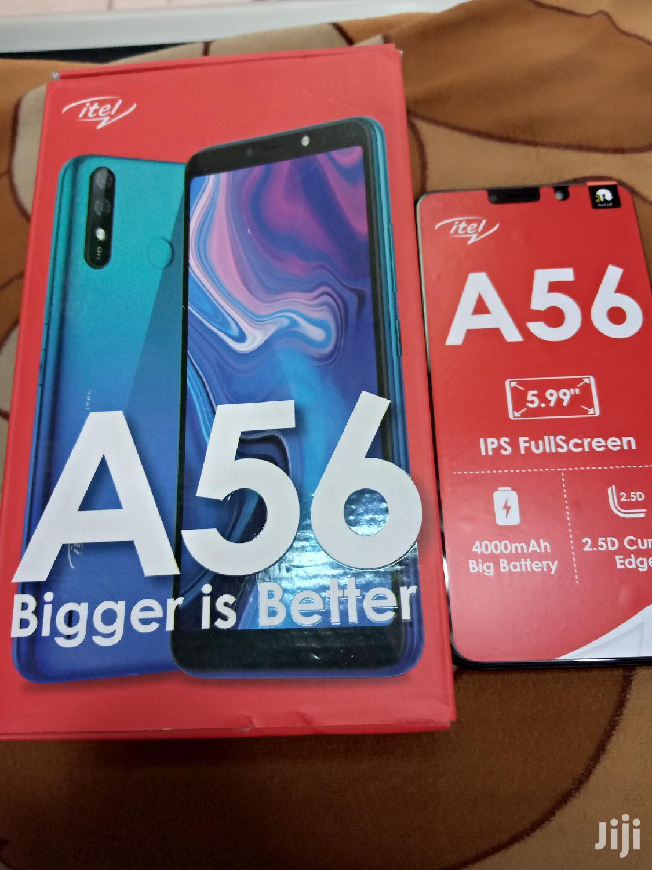 New Itel A56 16 GB Black