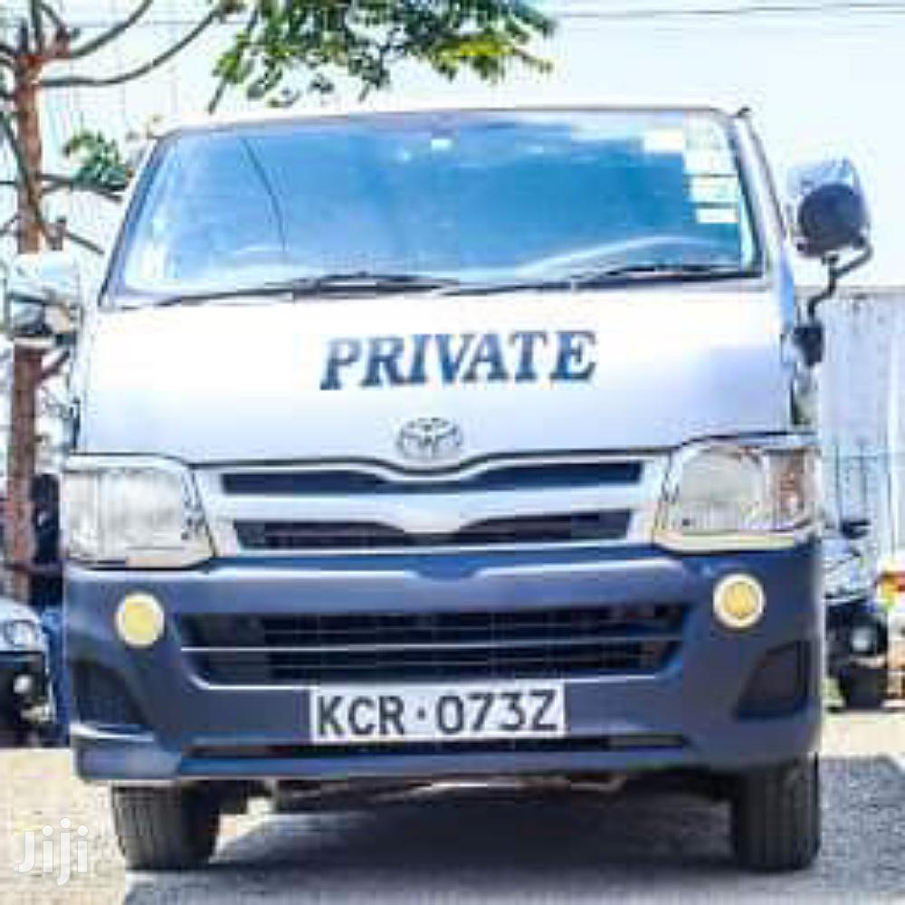Toyota Hiace | Buses & Microbuses for sale in Nairobi Central, Nairobi, Kenya