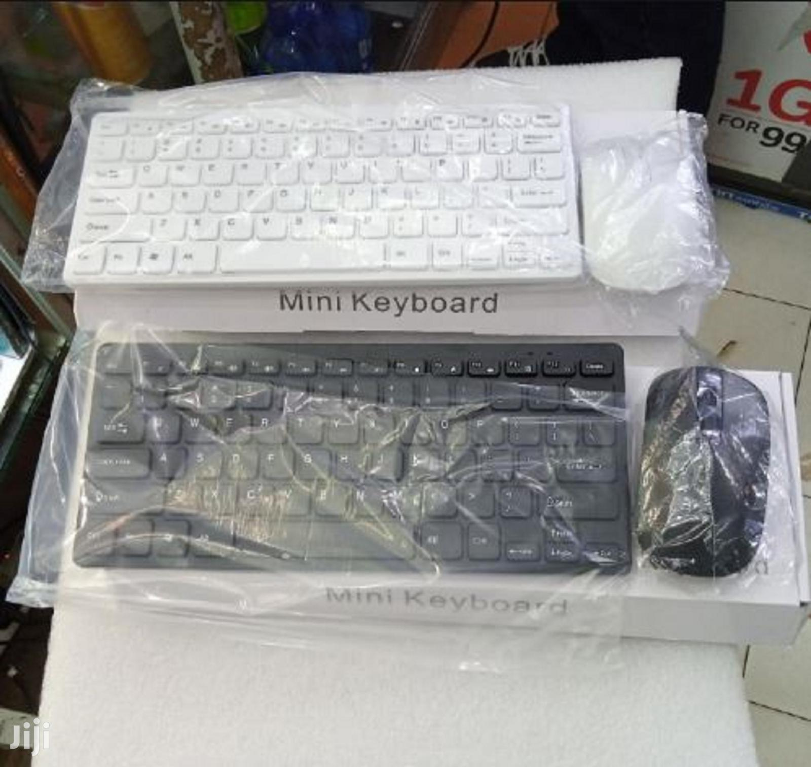 New Mini Wireless Keyboard With Mouse