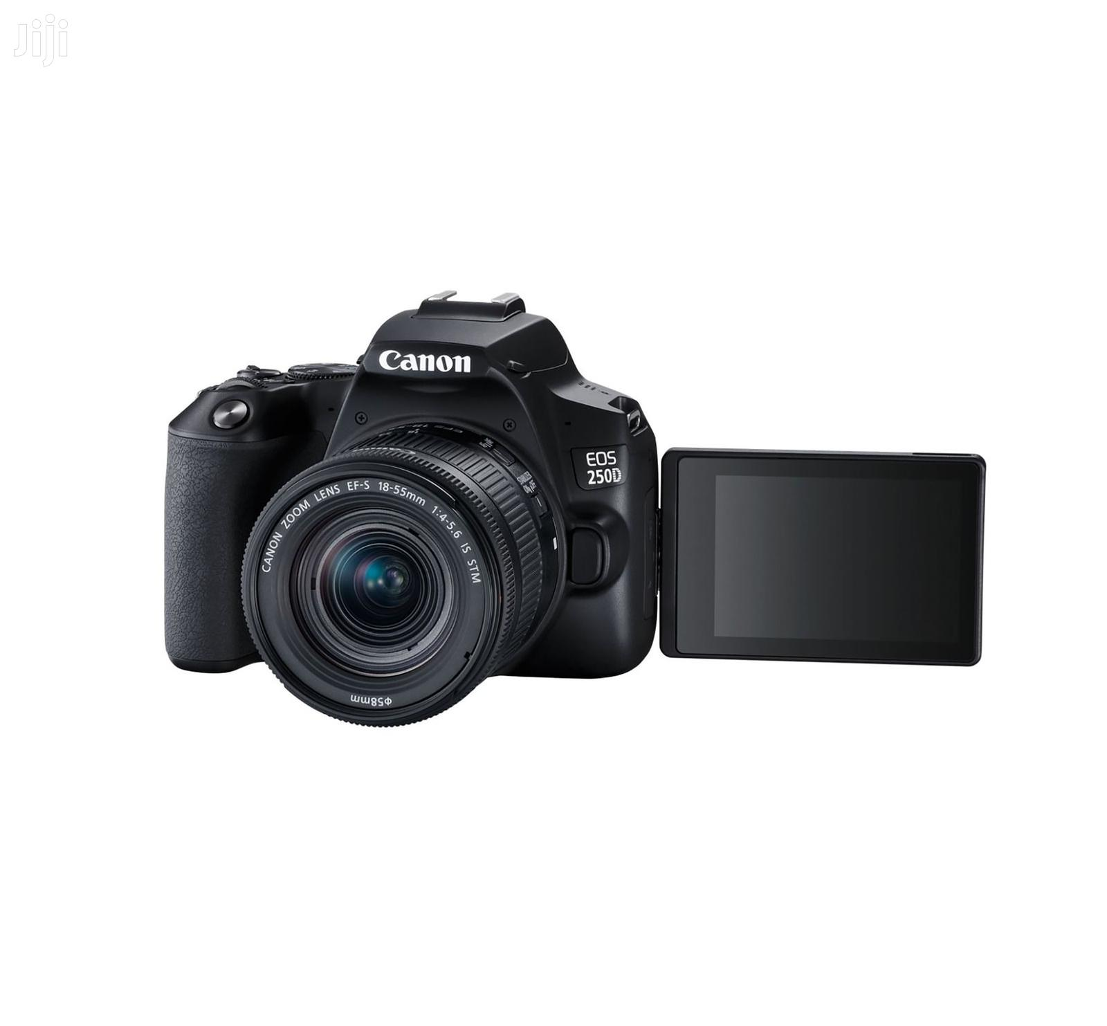 Canon EOS 250D DSLR Camera With 18-55mm Lens   Photo & Video Cameras for sale in Nairobi Central, Nairobi, Kenya