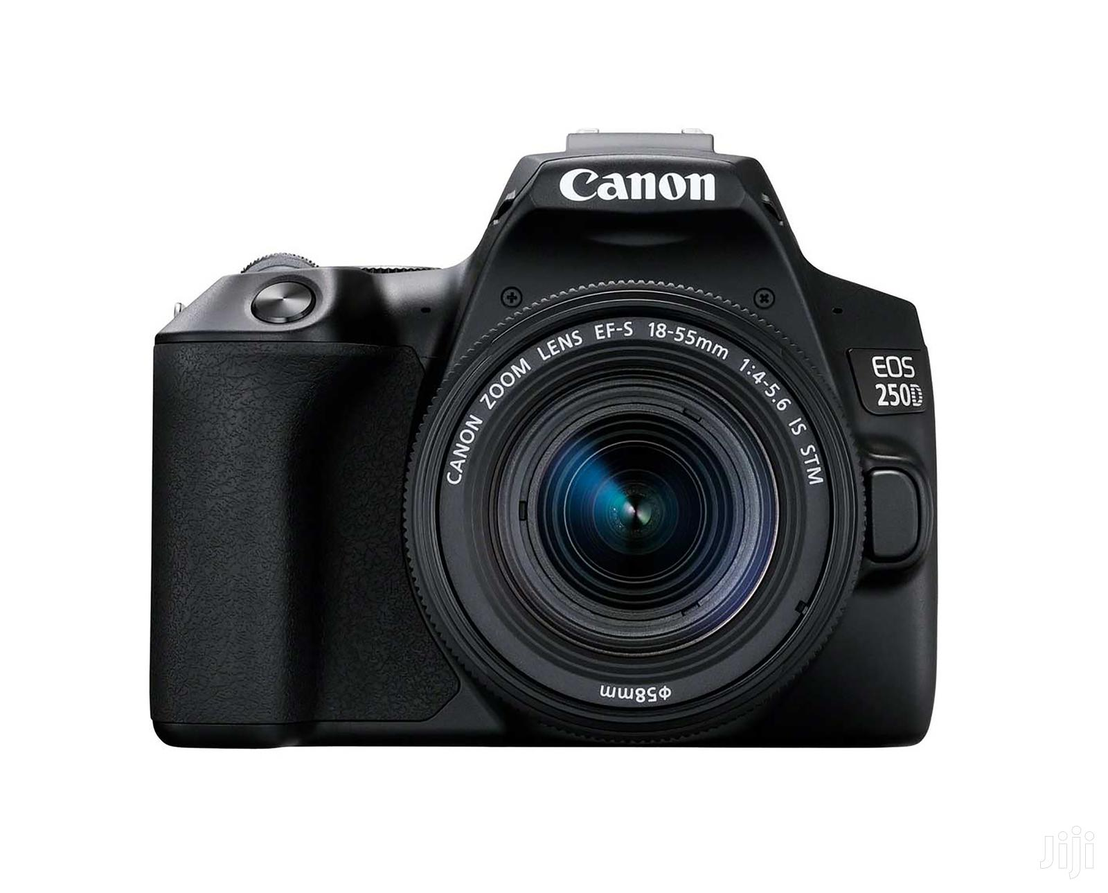 Canon EOS 250D DSLR Camera With 18-55mm Lens