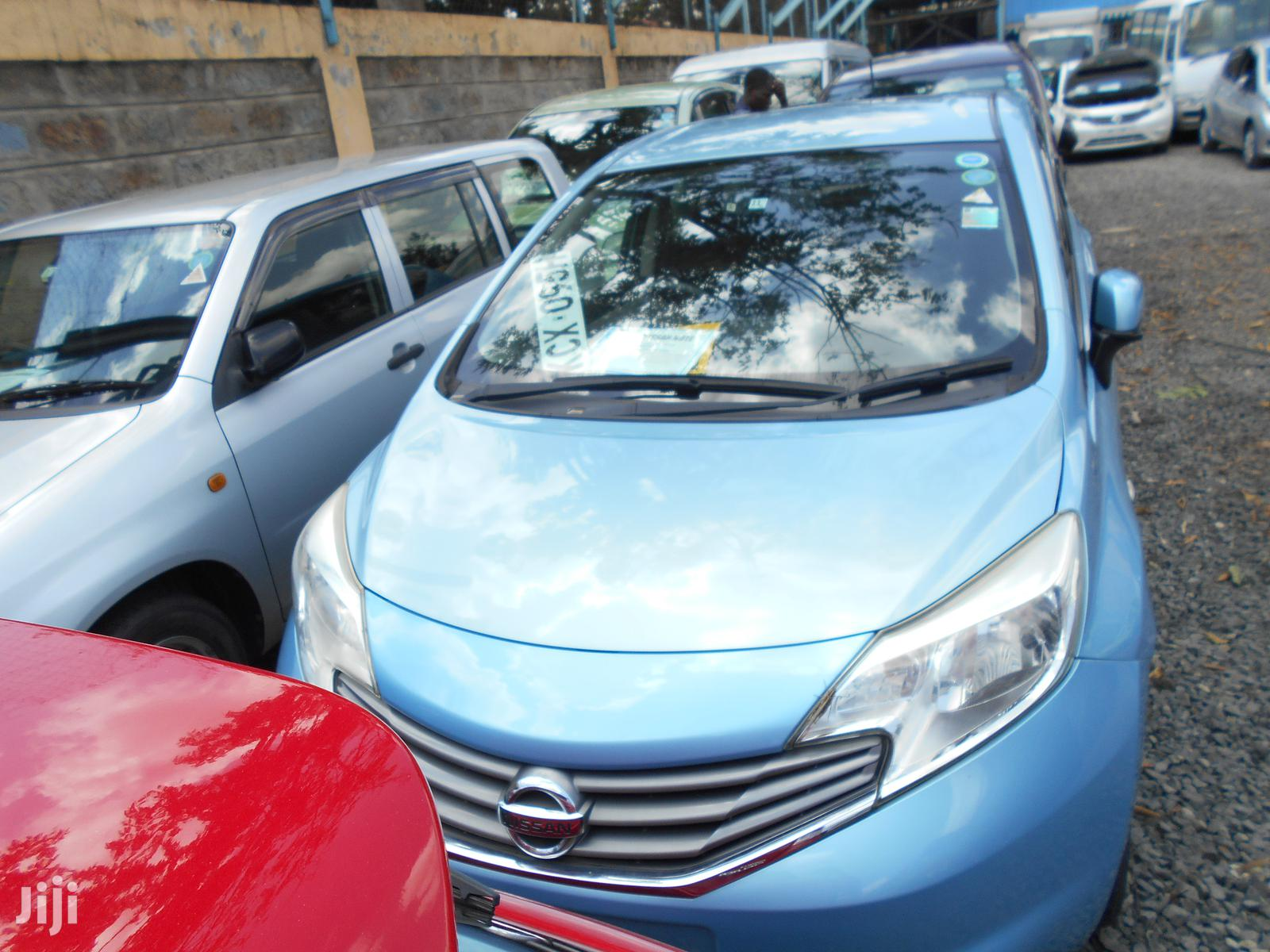 Nissan Note 2012 1.4 Blue