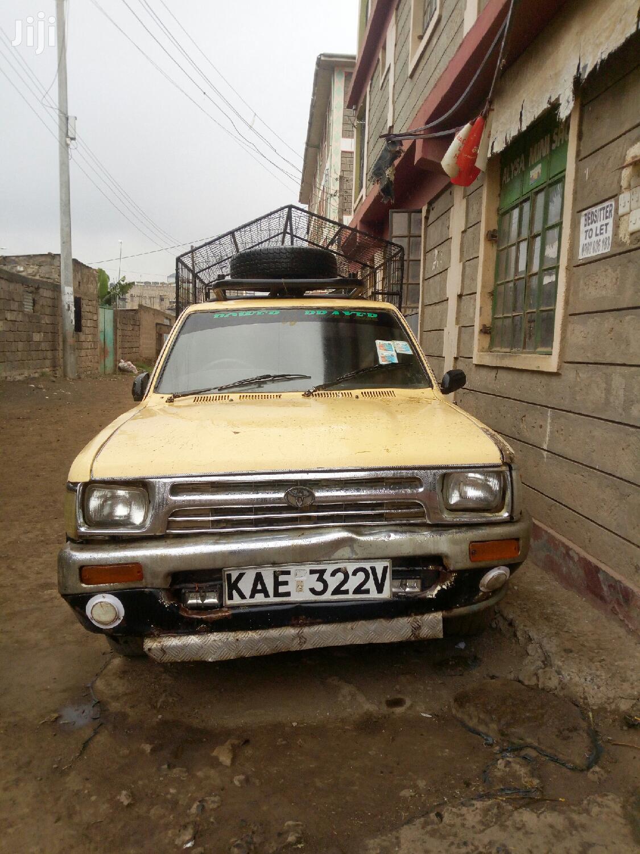 Toyota Hilux 1999 Beige   Cars for sale in Mwiki, Nairobi, Kenya