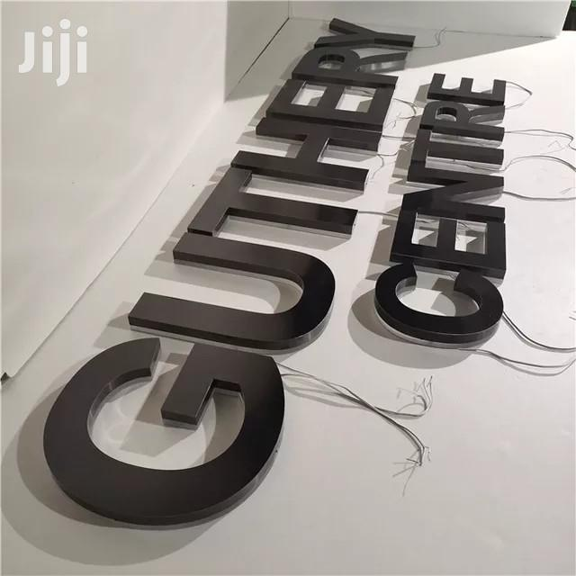 3D Signage | Manufacturing Services for sale in Nairobi Central, Nairobi, Kenya