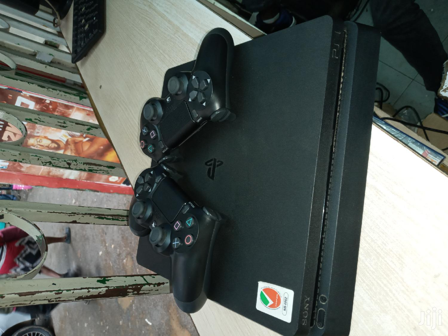 Ps4 Slim 500gb Used With Two Controllers | Video Game Consoles for sale in Nairobi Central, Nairobi, Kenya