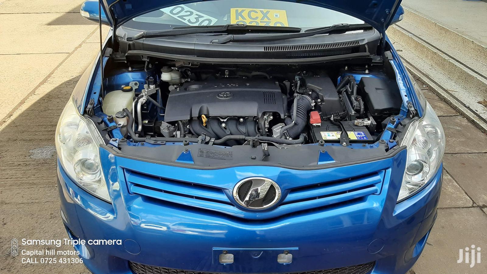 Archive: Toyota Auris 2012 Blue