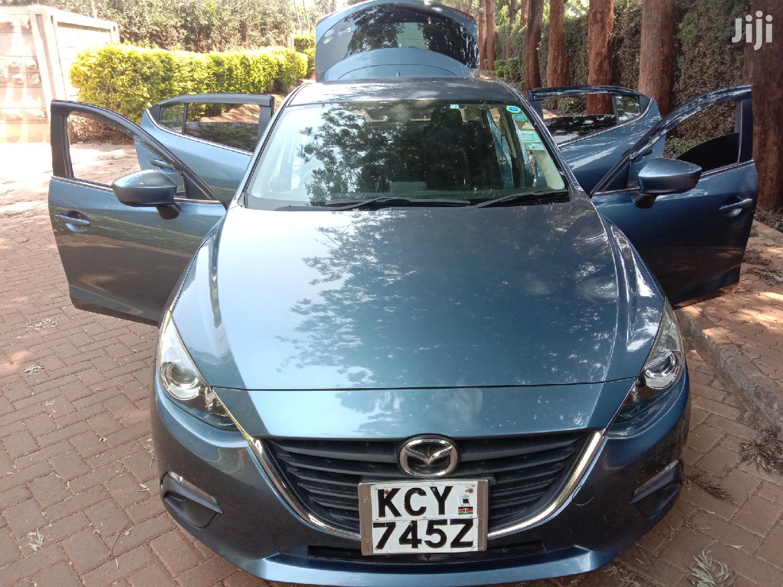 Mazda Axela 2013 Blue