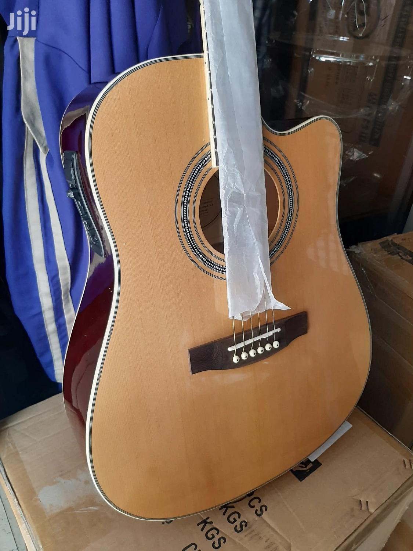 Semi Acoustic Guitar Fender.