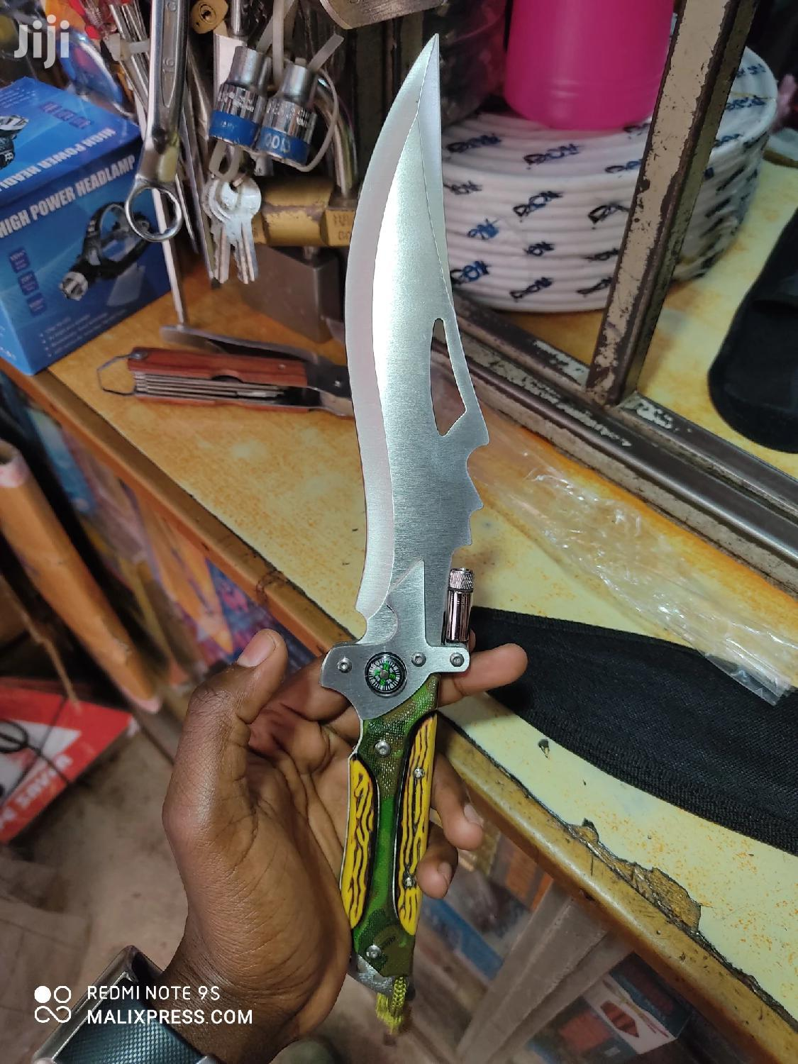 Tactical Camping Knife With Carrier Bag | Camping Gear for sale in Nairobi Central, Nairobi, Kenya